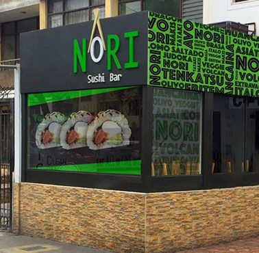 NORI SUSHI BAR Restaurant - and Peruvian Food FUSION - SAN BORJA - MESA 24/7 Guide | LIMA - Peru