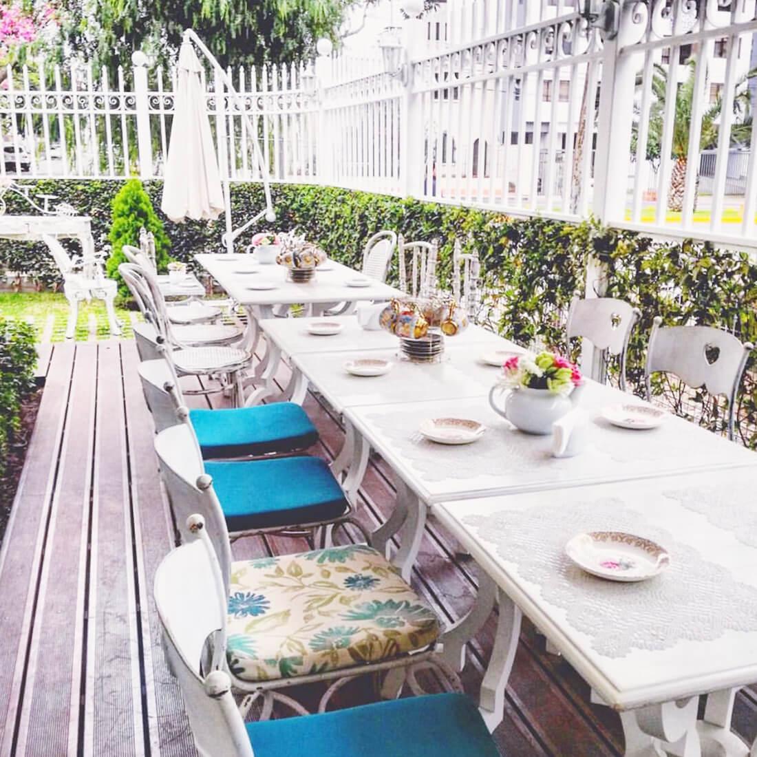 LAS BOLENA TEA ROOM & RESTAURANT Restaurante - Reserva en restaurantes de Comida INTERNACIONAL - MIRAFLORES - MESA 24/7 | LIMA - Perú