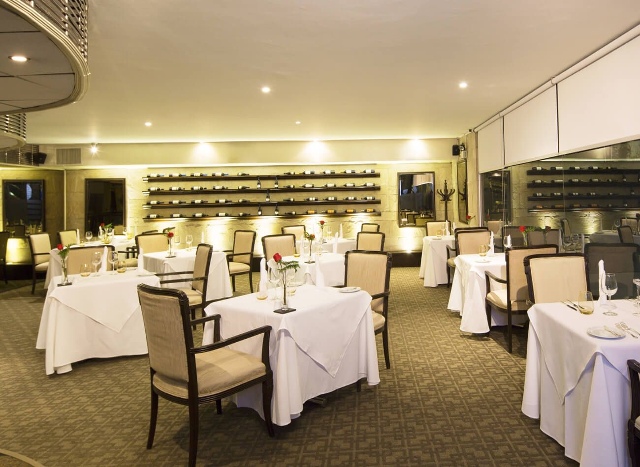 OCEANUS WINE BAR & RESTAURANT - DELFINES HOTEL Calle Los Eucaliptos 555 San Isidro