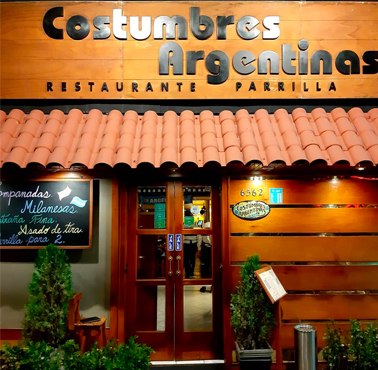 COSTUMBRES ARGENTINAS Restaurant - and Peruvian Food AUTHOR - BARRANCO - MESA 24/7 Guide | LIMA - Peru