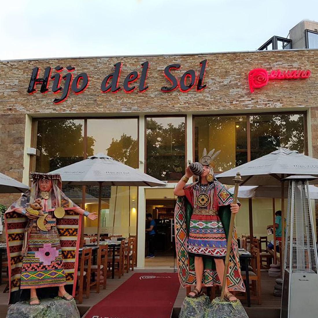 HIJO DEL SOL - VITACURA Restaurante - Reserva en restaurantes de Comida PERUANA - VITACURA - MESA 24/7 | SANTIAGO - Perú