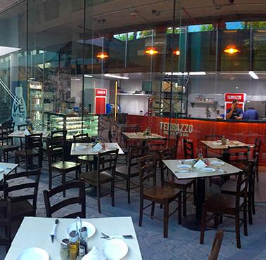 TERRAZZO PASTA & PIZZA BAR Restaurante - Reserva en restaurantes de Comida ITALIANA / PASTAS - LASCONDES - MESA 24/7 | SANTIAGO - Perú