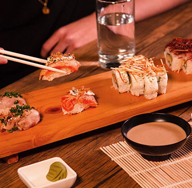 KANA SUSHI Restaurant - and Peruvian Food NIKKEI AND JAPANESE CUISINE - SAN BORJA - MESA 24/7 Guide | LIMA - Peru