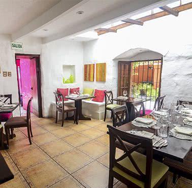 LA TRATTORIA DEL MONASTERIO Restaurante - Reserva en restaurantes de Comida FUSIóN - AREQUIPA - MESA 24/7 | AREQUIPA - Perú