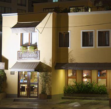 L'IMPASTO Restaurante - Reserva y Pide Delivery o Take Out en restaurantes de Comida ITALIANA - MIRAFLORES - MESA 24/7 | LIMA - Perú