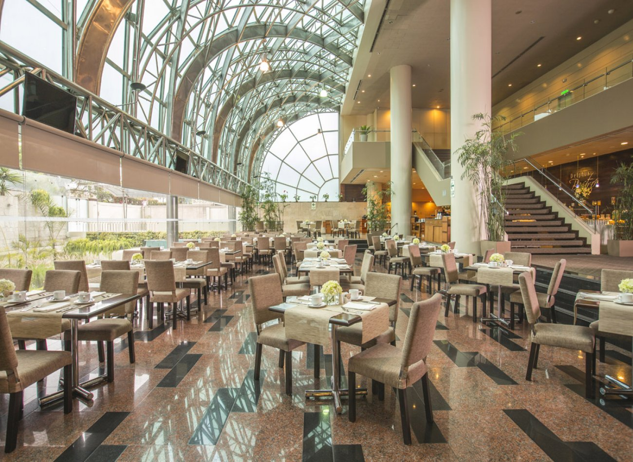 DELPHOS BISTRó - DELFINES HOTEL Restaurante - Reserva y Pide Delivery o Take Out en restaurantes de Comida INTERNACIONAL - SAN ISIDRO - MESA 24/7 | LIMA - Perú