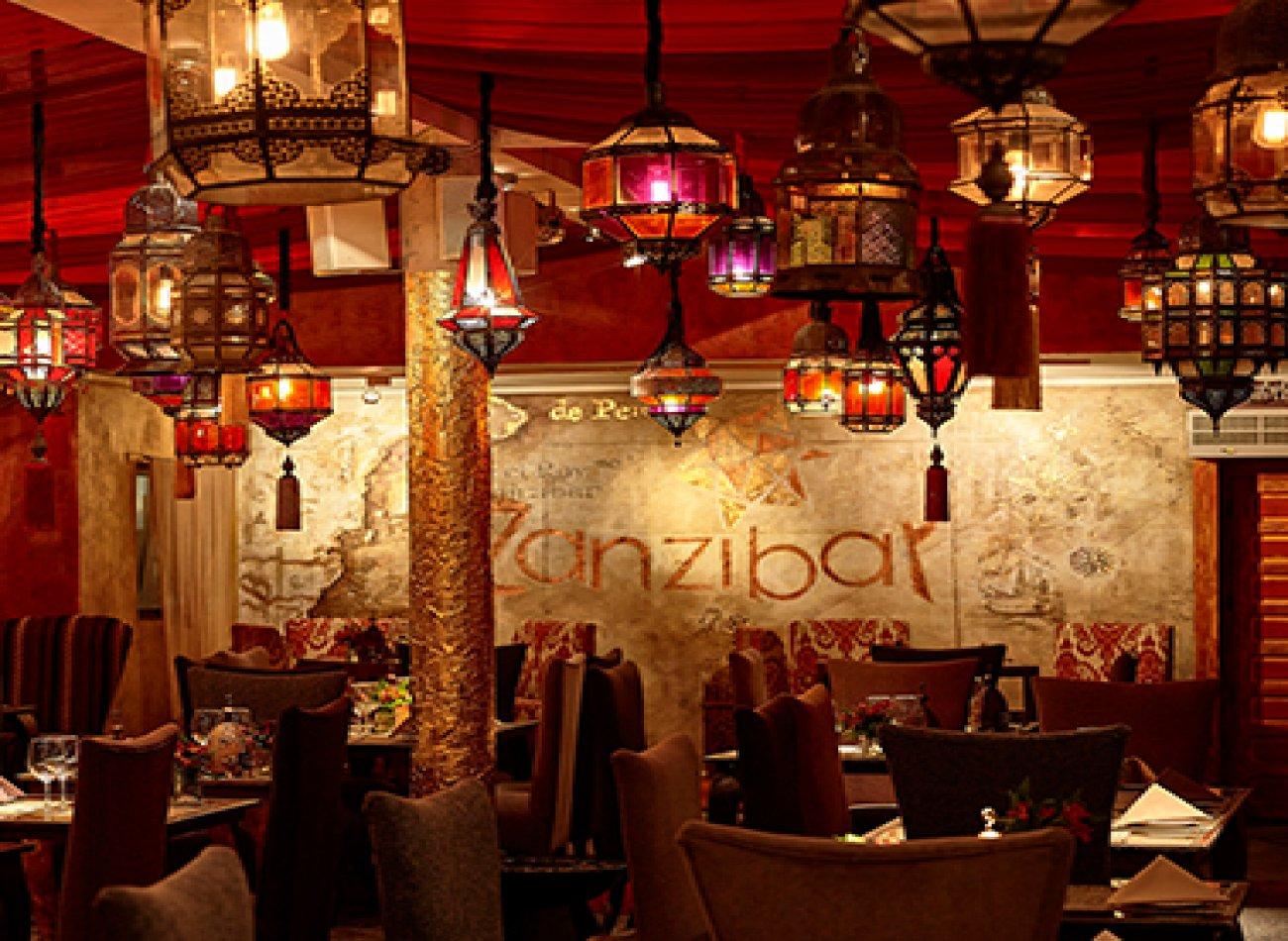 ZANZIBAR RESTAURANT Restaurante - Reserva en restaurantes de Comida INTERNACIONAL - VITACURA - MESA 24/7 | SANTIAGO - Perú