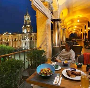 LA PLAZA AREQUIPA Restaurante - Reserva en restaurantes de Comida FUSIóN - AREQUIPA - MESA 24/7 | AREQUIPA - Perú