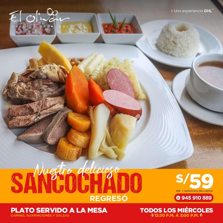 En El Olivar los miércoles son de Sancochado!