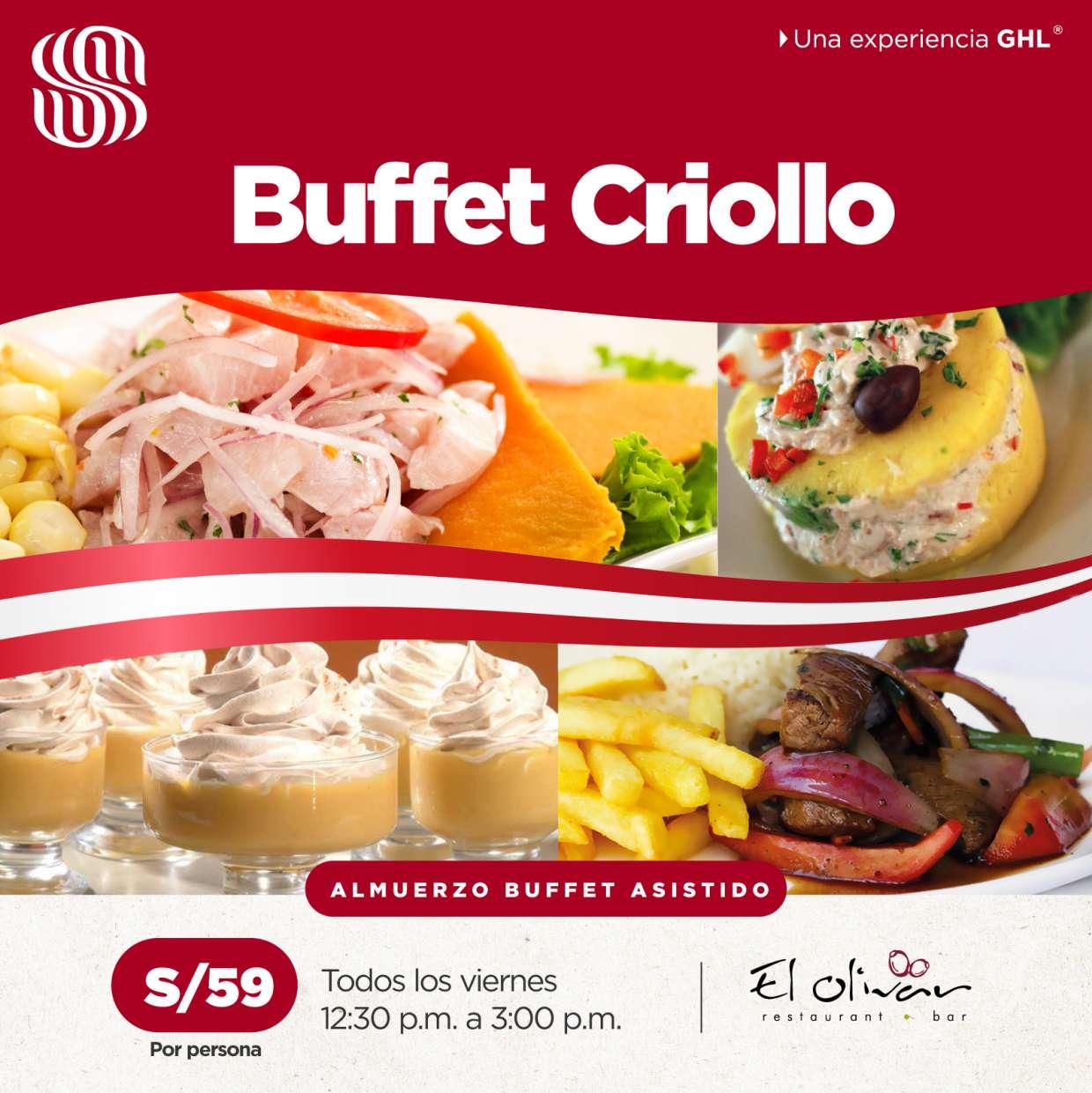 Regresa nuestro Buffet Criollo Asistido!