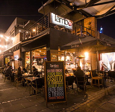 TAMBO ( PATIO BELLAVISTA ) Restaurante - Reserva en restaurantes de Comida PERUANA - PROVIDENCIA - MESA 24/7 | SANTIAGO - Perú