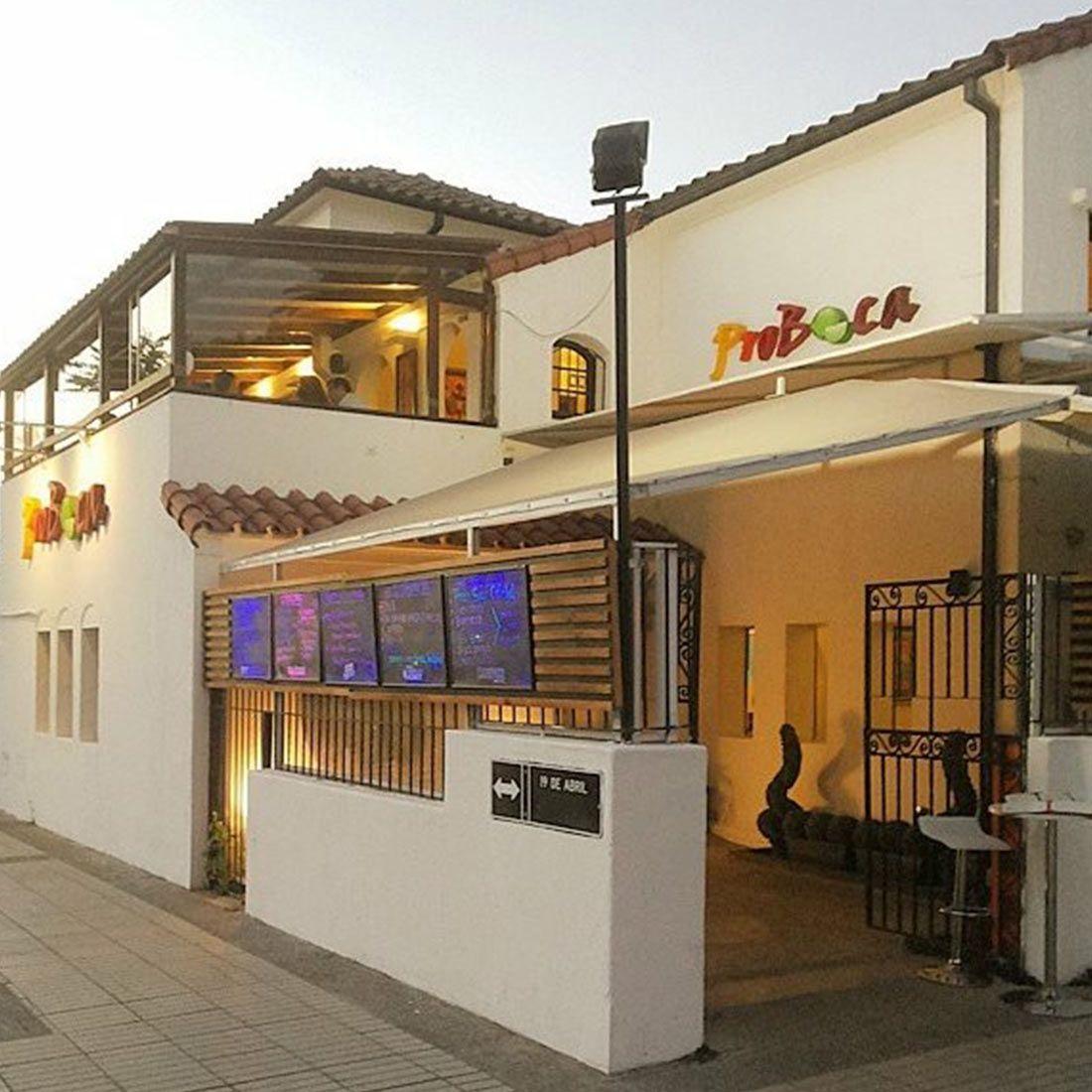 PROBOCA Restaurante - Reserva en restaurantes de Comida PERUANA - ÑUñOA - MESA 24/7 | SANTIAGO - Perú