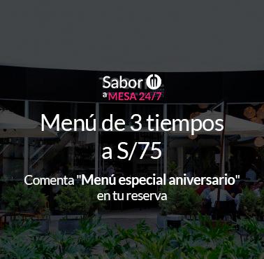 TOSHI (PATIO PANORAMA) Restaurante - Reserva en restaurantes de Comida NIKKEI / JAPONESA - SANTIAGO DE SURCO - MESA 24/7 | LIMA - Perú