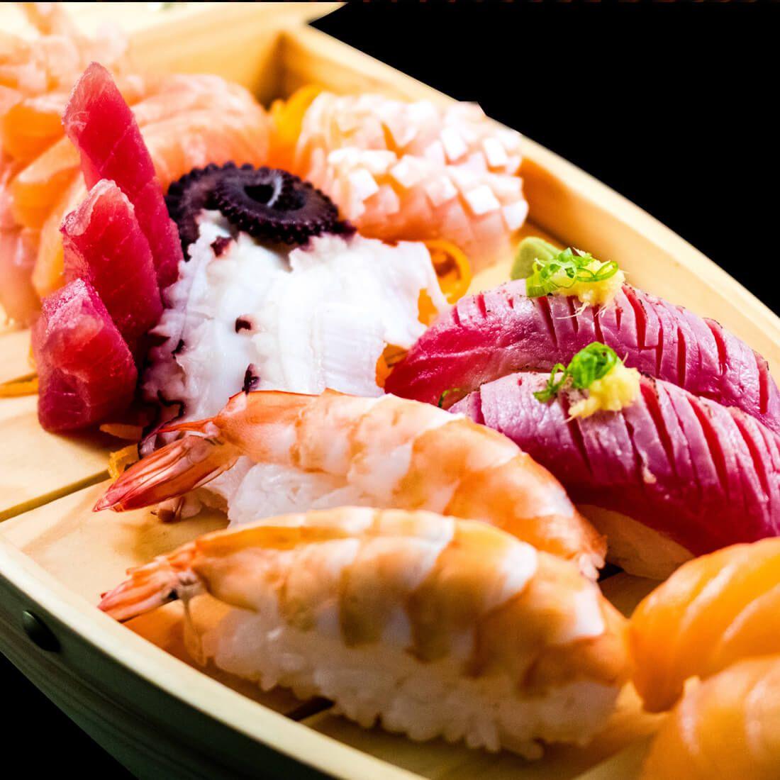 SAKAE SUSHI BAR Restaurante - Reserva y Pide Delivery o Take Out en restaurantes de Comida NIKKEI / JAPONESA - SANTIAGO DE SURCO - MESA 24/7 | LIMA - Perú